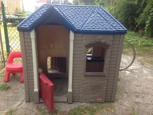 Boys' Playhouse indoor/outdoor with chair