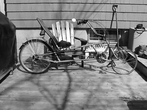 Custom made recumbent bicycle REDUCED