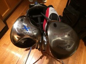 3 sets of golf clubs for sale