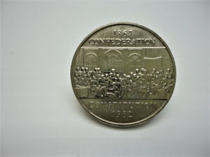1982 Canadian One Dollar $1 Coin - Commemorative