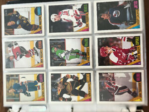 1987-88 O-Pee-Chee Hockey Cards Complete Set of 264