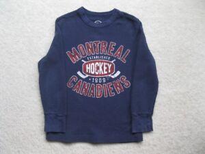 Montreal Canadiens Boys Long Sleeve Shirt
