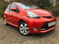*12 MTHS WARRANTY*2012(13)TOYOTA AYGO 1.0 VVT-I FIRE 5DR WITH ONLY 43K*