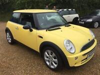2005 Mini Mini 1.6 ( Salt ) One petrol manual in yellow