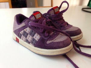 Lego sneakers-- toddler 7