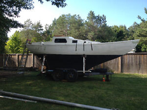 27ft  SAILBOAT FOR SALE