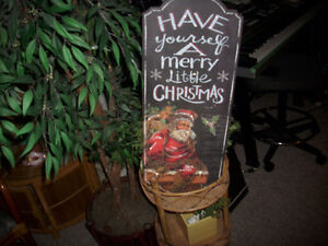 Have Yourself a Merry Little Christmas Chalk Board