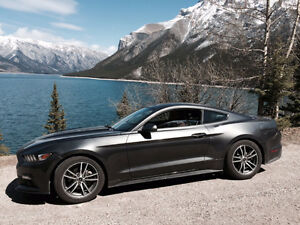 2015 Ford Mustang EcoBoost Premium with TWO service plans
