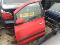 Seat Alhambra sheeran passenger side door red Volkswagen breaking full van
