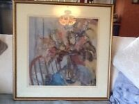 Barbara A Wood picture 615/995. Signed