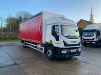 2017 17 Plate Iveco Eurocargo 18t Curtainsider with Tuckaway Tail Lift