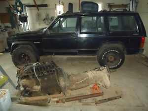 1996 Jeep Cherokee sport SUV, Crossover for parts