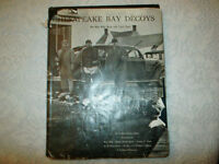 CHESEPEAKE BAY DECOYS HARD COVER: #B-169 by R.H. Richardson