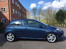 L@@K 2015 65 reg Vauxhall Corsa SRI VX-LINE CDTI ECOFLEX DIESEL ONLY 4,000 MILES* BARGAIN *FSH