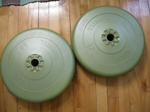 2 Disques - plate 25 lb   ( poids  - weight )