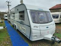 2007 Coachman Golden Laser 590 4 Berth End Washroom Caravan, Twin Axle, M/Mover