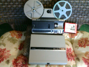 Projecteur BELL & HOWELL 8mm/SUPER 8 Model 1638 Multi-Motion
