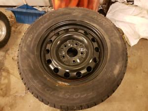 215/70/16 studded snow tires