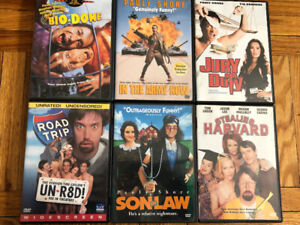 Lot of 6 Comedy DVDs ($1 Each)