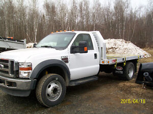 FORD F-550, 2008 DIESEL, 6 ROUES MOTRICES