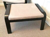 2 x IKEA Poang Footstools