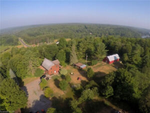 NEW PRICE!! MINDEN 'HOBBY FARM' w/LARGE HOME ON 95+ ACRES