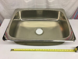 Évier Stainless STEEL QUEEN Sink : NEW/NEUF