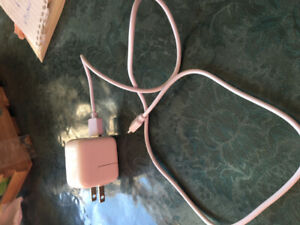 iPhone five charger and cord