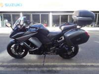 2012 12 plate Kawasaki Z1000SX Tourer 15566 miles with 3 part luggage