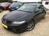 HONDA ACCORD VTEC TYPE S Black Manual 2.4 Petrol, 2007
