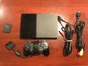 For Sale: PlayStation 2 Console with Three Kingdom Hearts Games