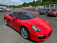 2014 64 PORSCHE BOXSTER 3.4 S PDK Auto 981 Guards Red / Black leather, exhaust