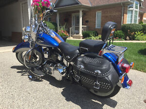 2010 Harley Davidson FLSTC Heritage Softail Classic - With Rev