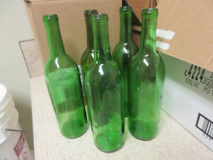 Bordeaux style red wine bottles for home wine making.