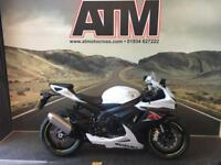 SUZUKI GSXR600 L5 2015, 2K MILES, CAT C FAIRING DAMAGE (ATMOTORCYCLES)