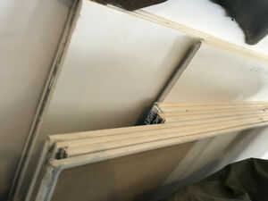 Drywall for sale.  Various widths and lengths.