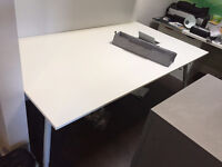 Large White Board Table GREAT CONDITION
