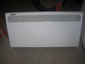2 electric heaters, 2000  w