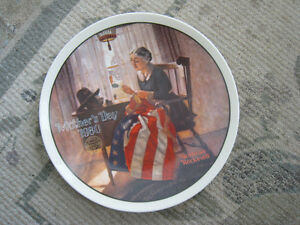 Collector Plate – A Mother's Pride by Norman Rockwell