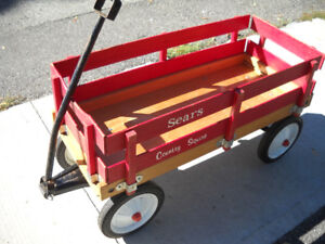BEAUTIFUL WOODEN SEARS COUNTRY SQUIRE WAGON