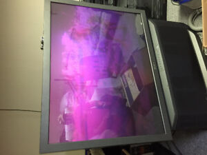 LARGE screen tv - 2002 - Great for movies and sports