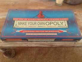 Monopoly unopened - make your ownopoly