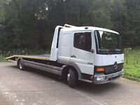 Mercedes Atego 815 Recovery Lorry 2005 05 Reg Immaculate Lorry with Brand New Body