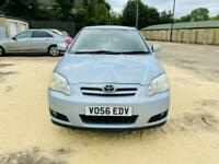 2006 blue toyota corolla automatic ideal first car low insurance cheap runner