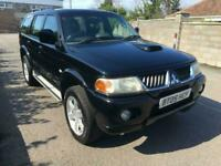2005 Mitsubishi Shogun Sport 2.5 TD Warrior 5dr 4x4 Diesel Manual