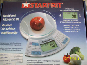 Nutritional Kitchen Scale (New) in box