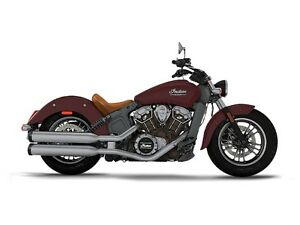 2017 Indian Scout ABS Burgundy Metallic