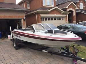 1991 Invader Bowrider with Triton Trailer