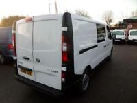 Vauxhall Vivaro 2900 1.6Cdti 115Ps H1 Doublecab/Crew Van DIESEL MANUAL (2016)