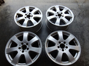 "17"" MERCEDES ALLOY RIMS SET OF 4"